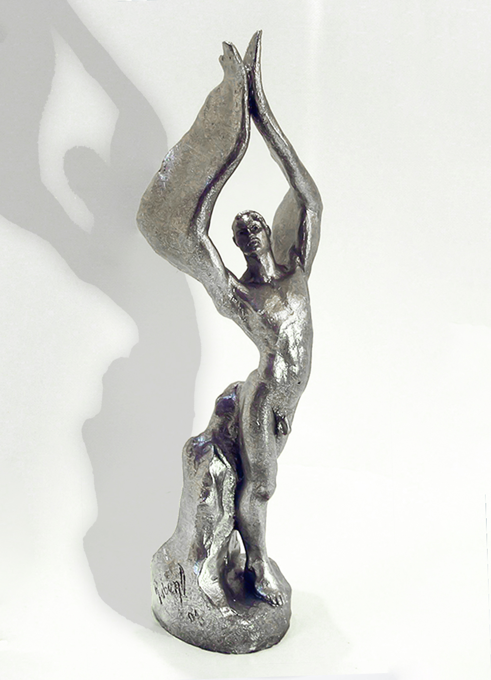 Escultura-Arcangel-A-Figurativo-Realista-RD.Escultor