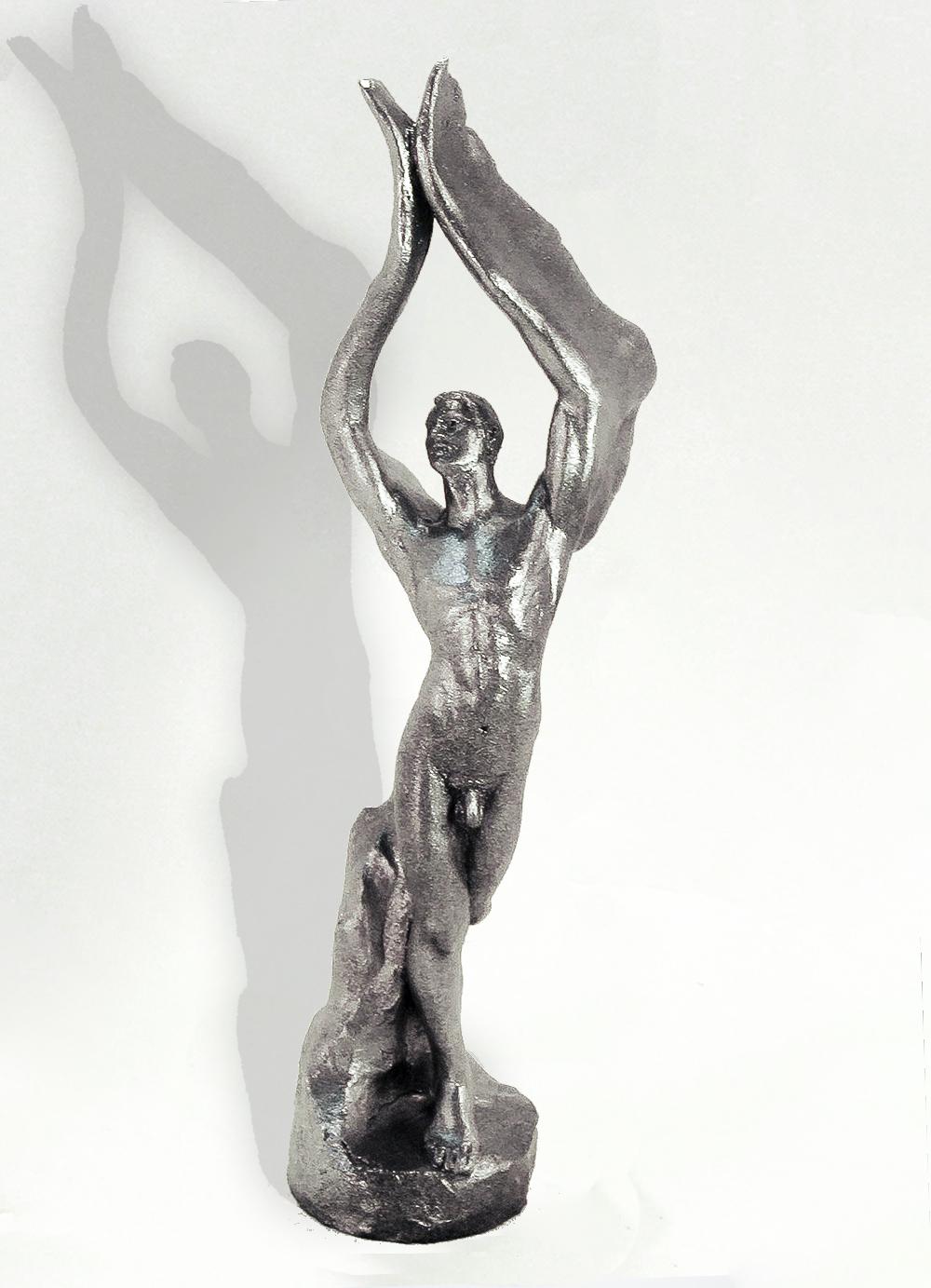 Escultura-Arcangel-B-Figurativo-Realista-RD.Escultor