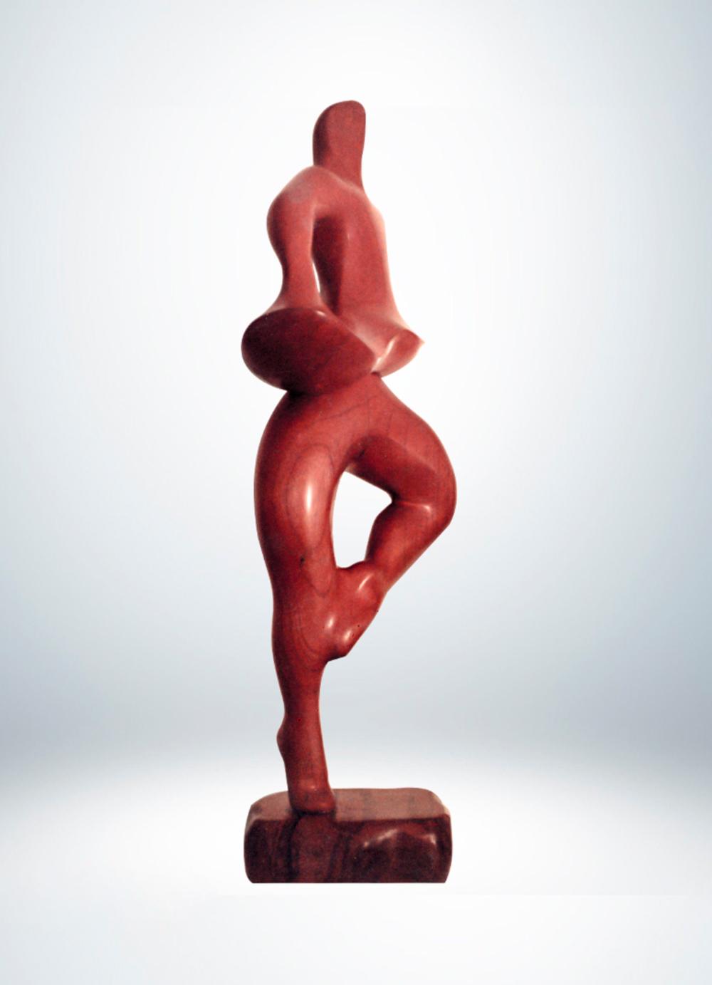 Escultura-Bailarin-Cedro-B-Figurativo-Abstracto-RD.Escultor