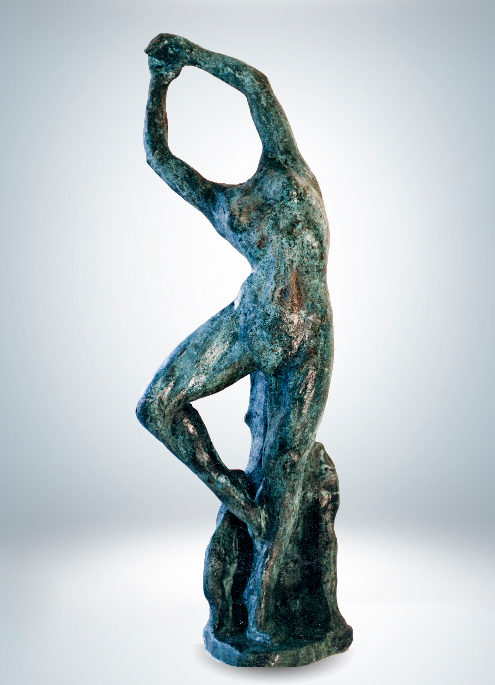 Escultura-Bailarina-Bronce-A-Figurativo-Abstracto-RD.Escultor