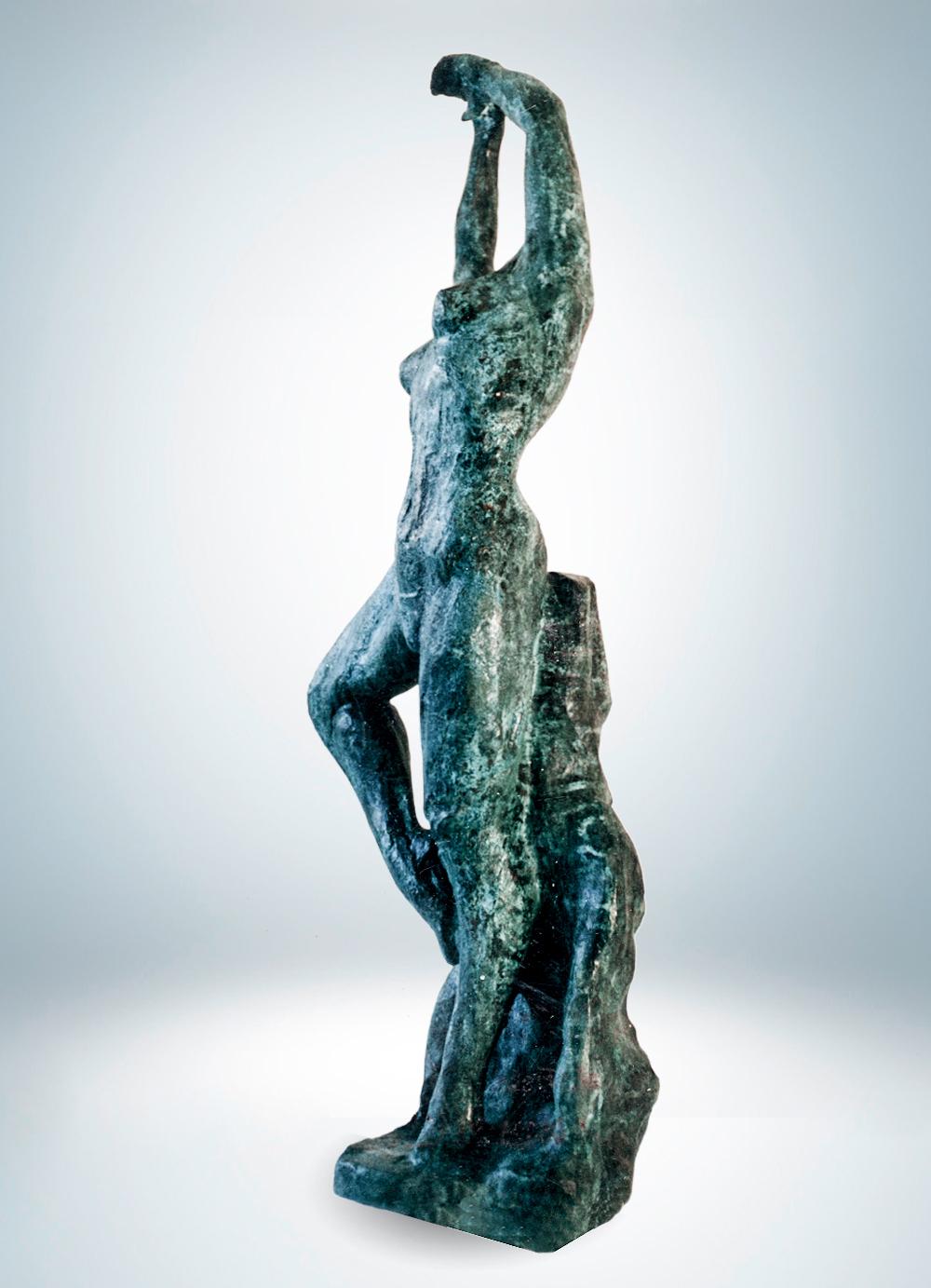 Escultura-Bailarina-Bronce-B-Figurativo-Abstracto-RD.Escultor