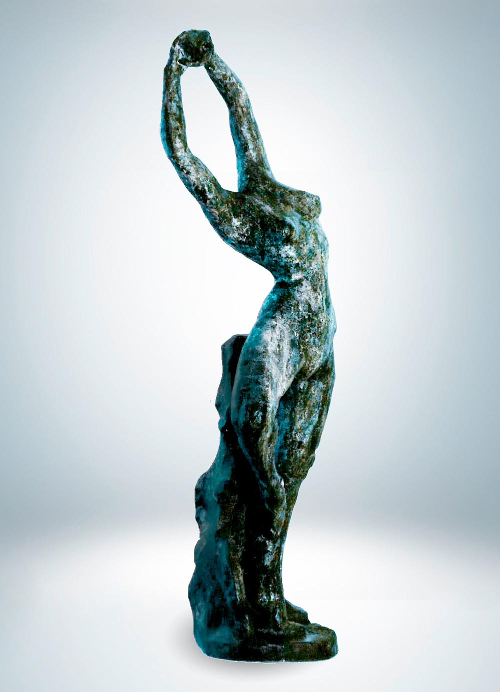Escultura-Bailarina-Bronce-C-Figurativo-Abstracto-RD.Escultor