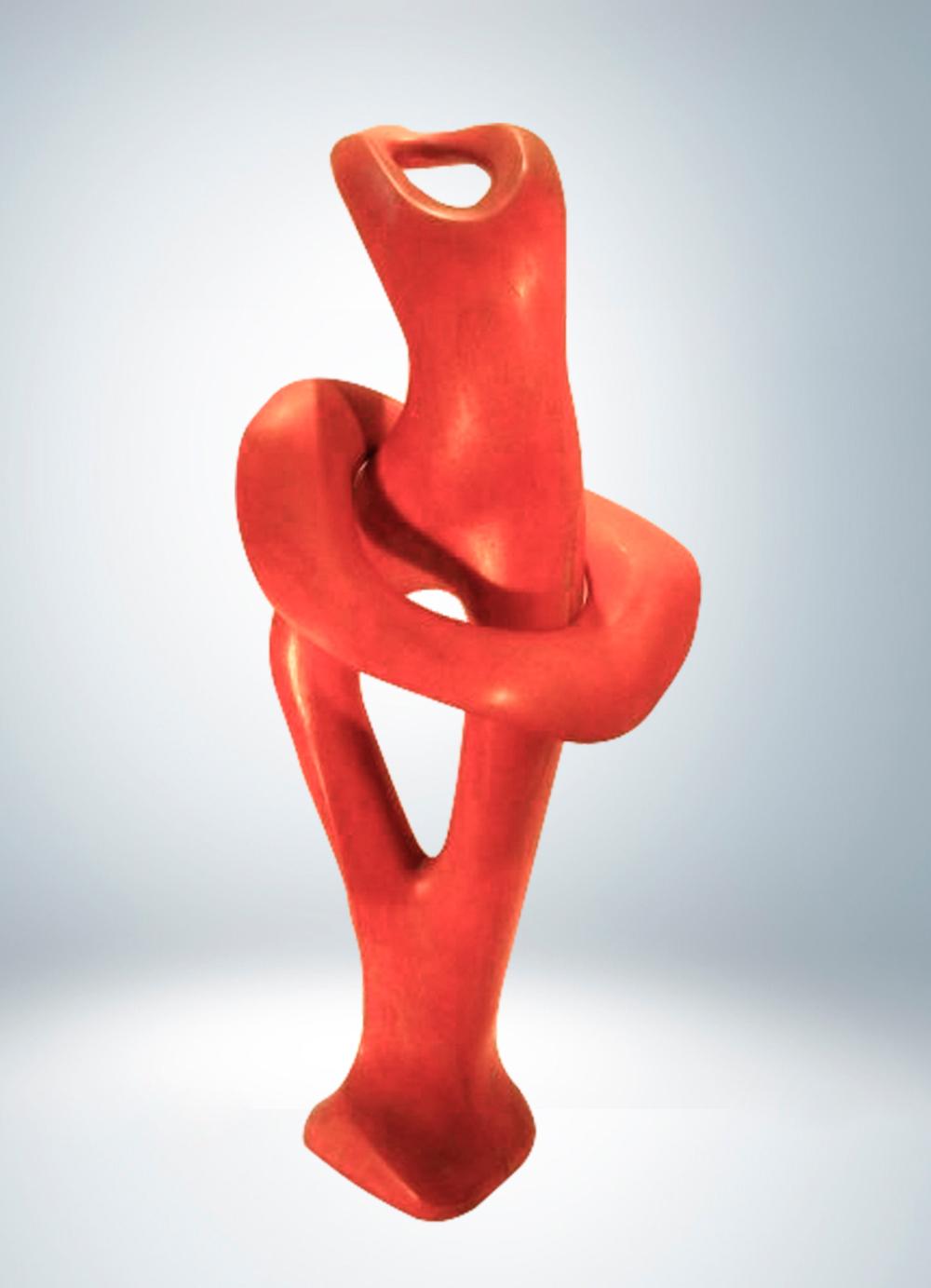 Escultura-Bailarina-Sapali-B-Figurativo-Abstracto-RD.Escultor