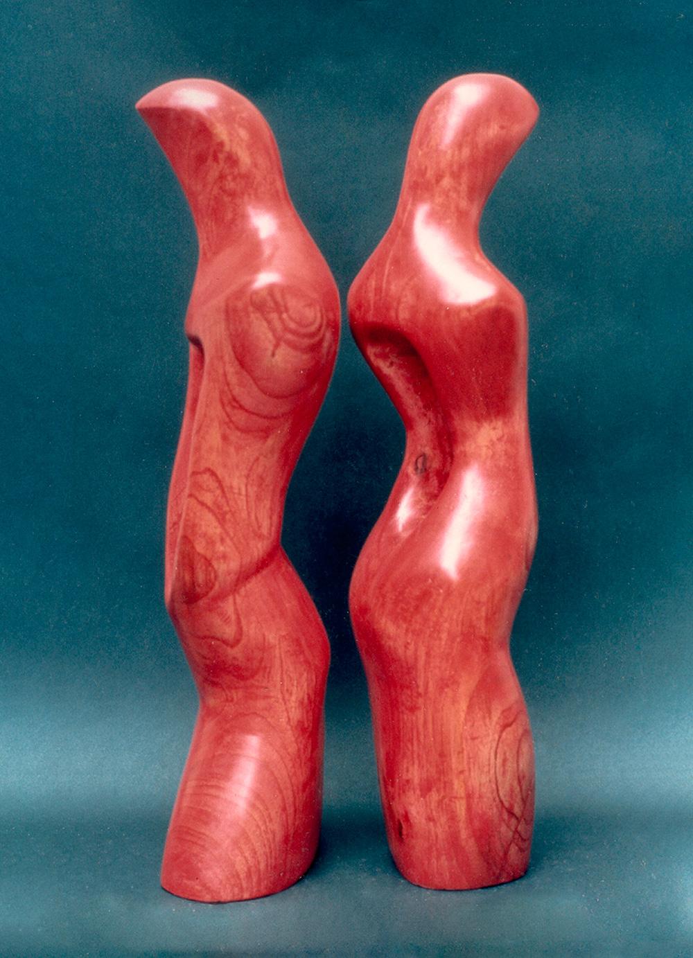 Escultura-El-abrazo-A-Figurativo-Abstracto-RD.Escultor