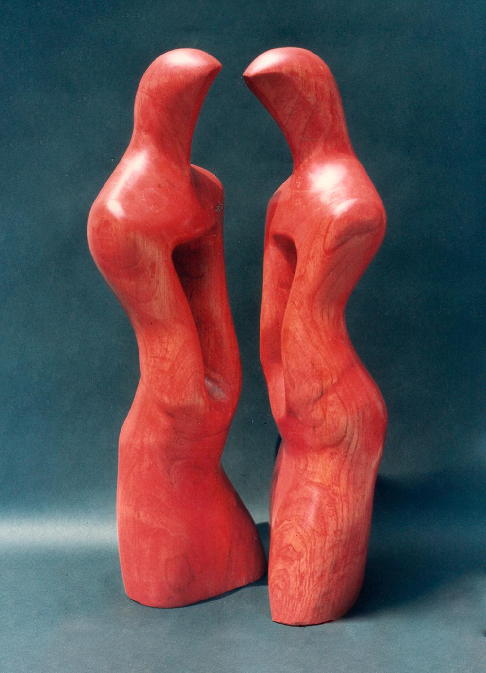 Escultura-El-abrazo-B-Figurativo-Abstracto-RD.Escultor