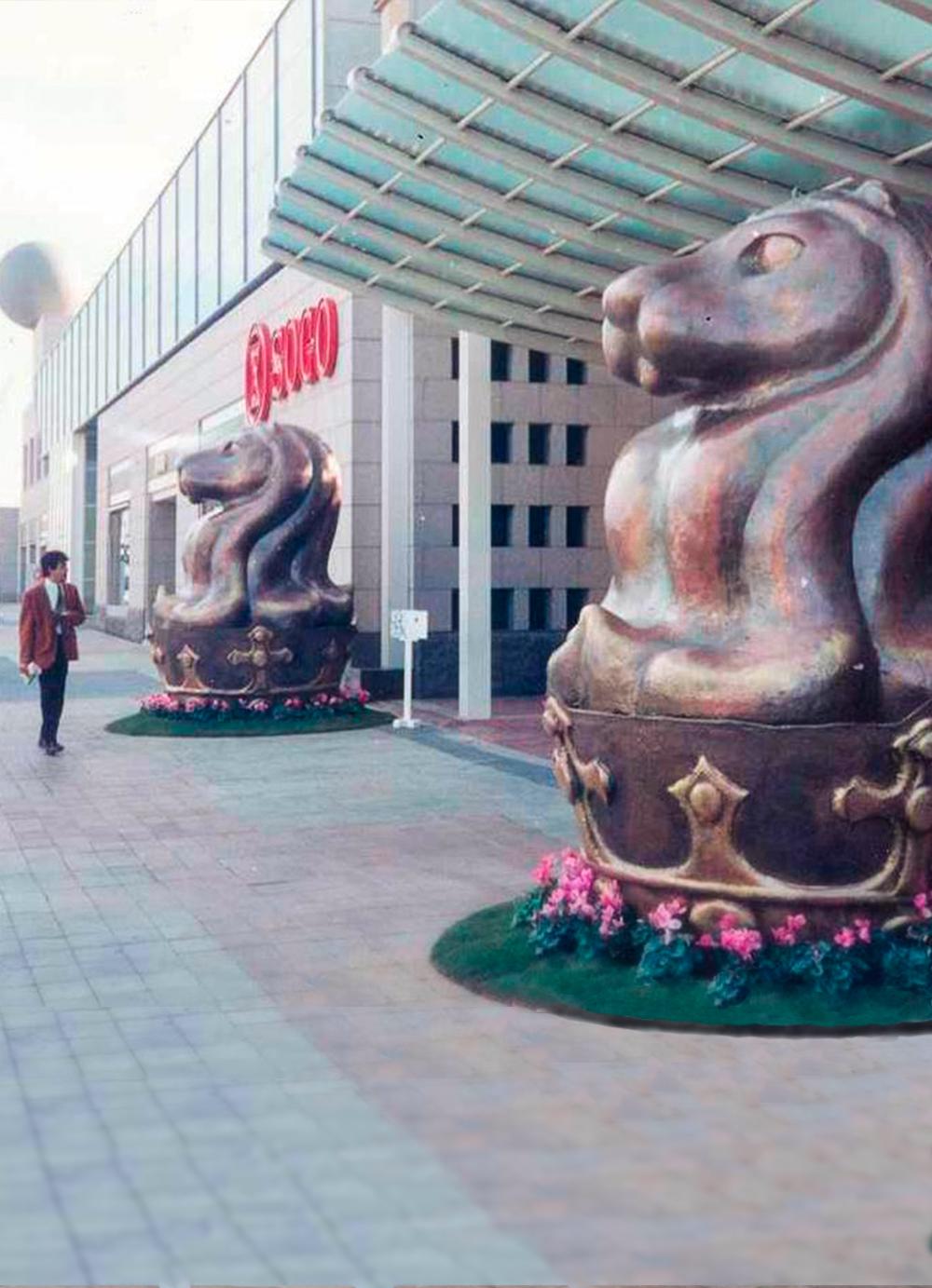 Escultura-Encargos-Hotel-Arts-D-RD.Escultor