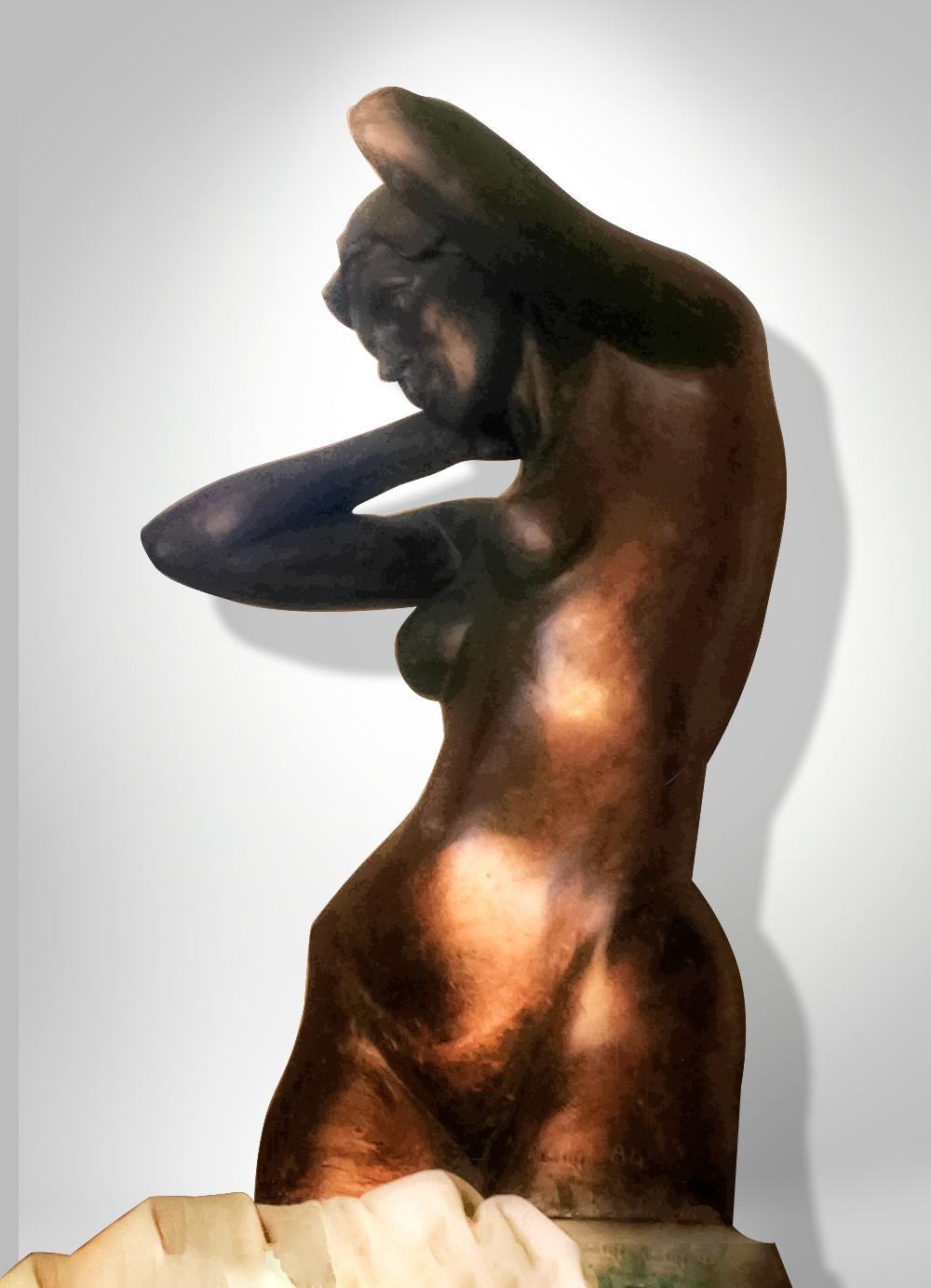 Escultura-Femenina-Bronce-A-Figurativo-Realista-RD.Escultor