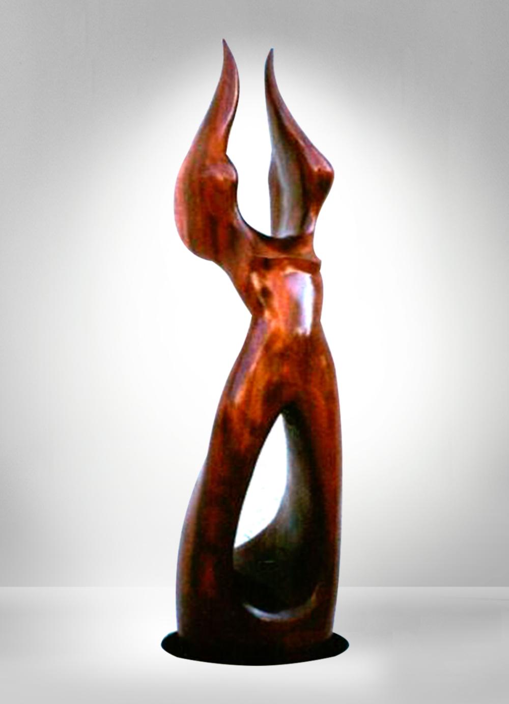 Escultura-Victoria 1-A-Figurativo-Abstracto-RD.Escultor
