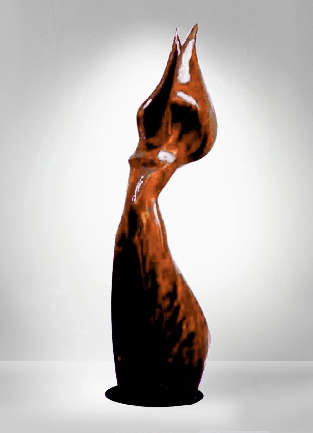 Escultura-Victoria 1-B-Figurativo-Abstracto-RD.Escultor