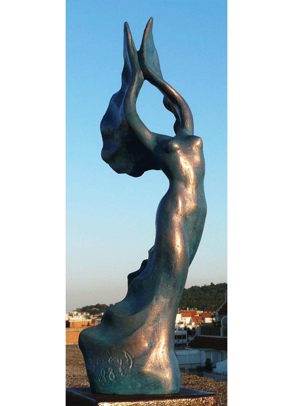 Escultura-Victoria-Bronce-A-Figurativo-Abstracto-RD.Escultor
