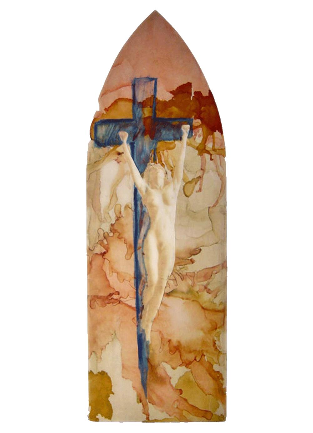 Pintura-Cruxificcion-2-RD.Escultor