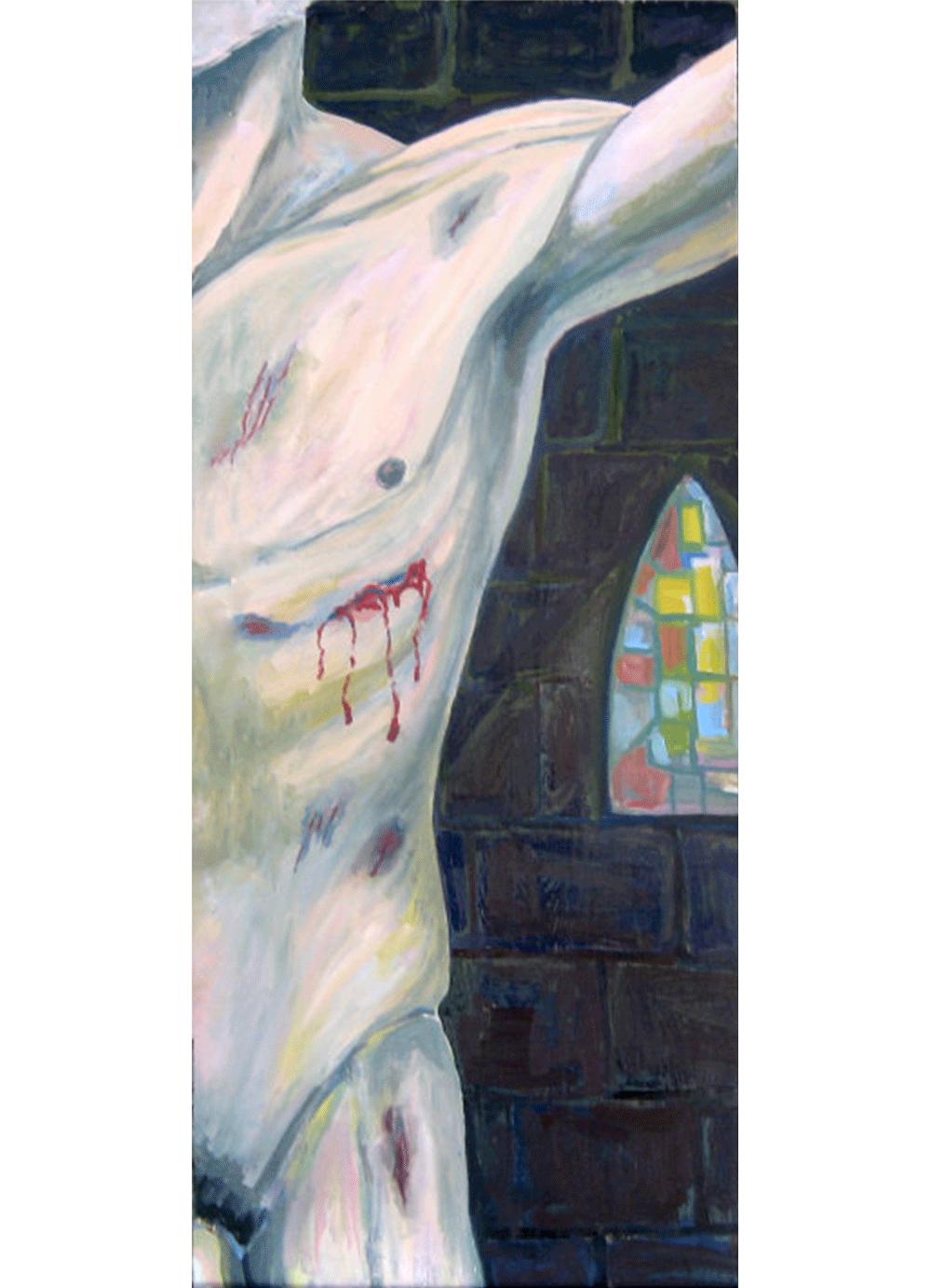 Pintura-Cruxificcion-RD.Escultor