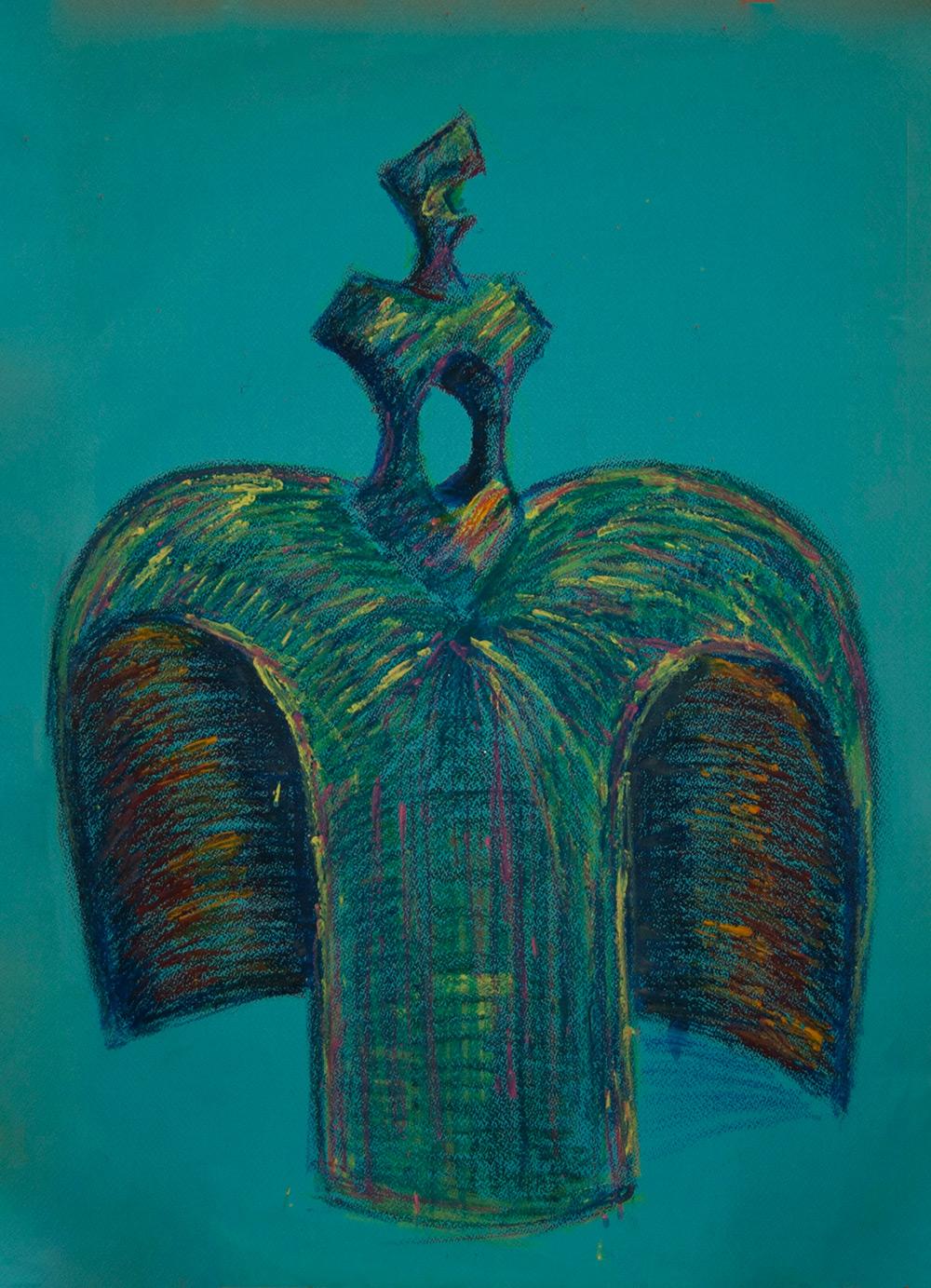 Pintura-Menina-blue-RD.Escultor