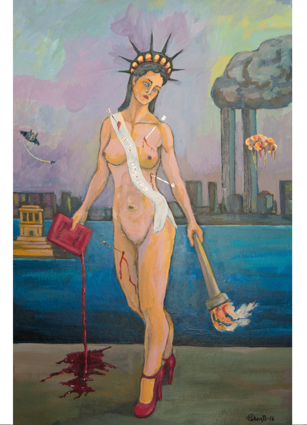 Pintura-Mis-Libertad-RD.Escultor