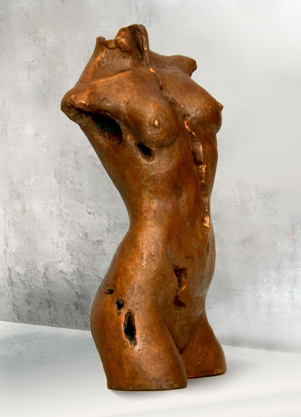 Escultura-Torso-Femenino-Bronce-B-C.Danone-RD.Escultor