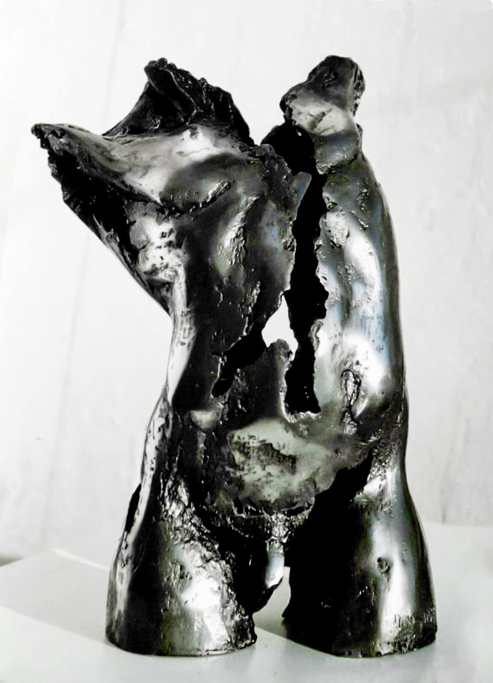 Escultura-Torso-Masculino-Aluminio-A-C.Danone-RD.Escultor