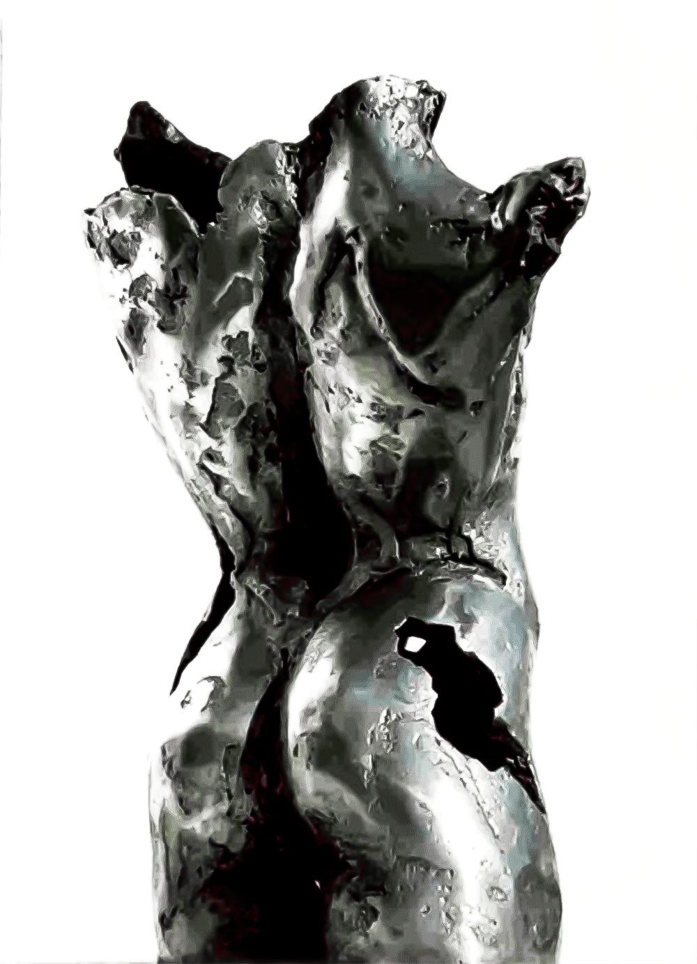 Escultura-Torso-Masculino-Aluminio-B-C.Danone-RD.Escultor