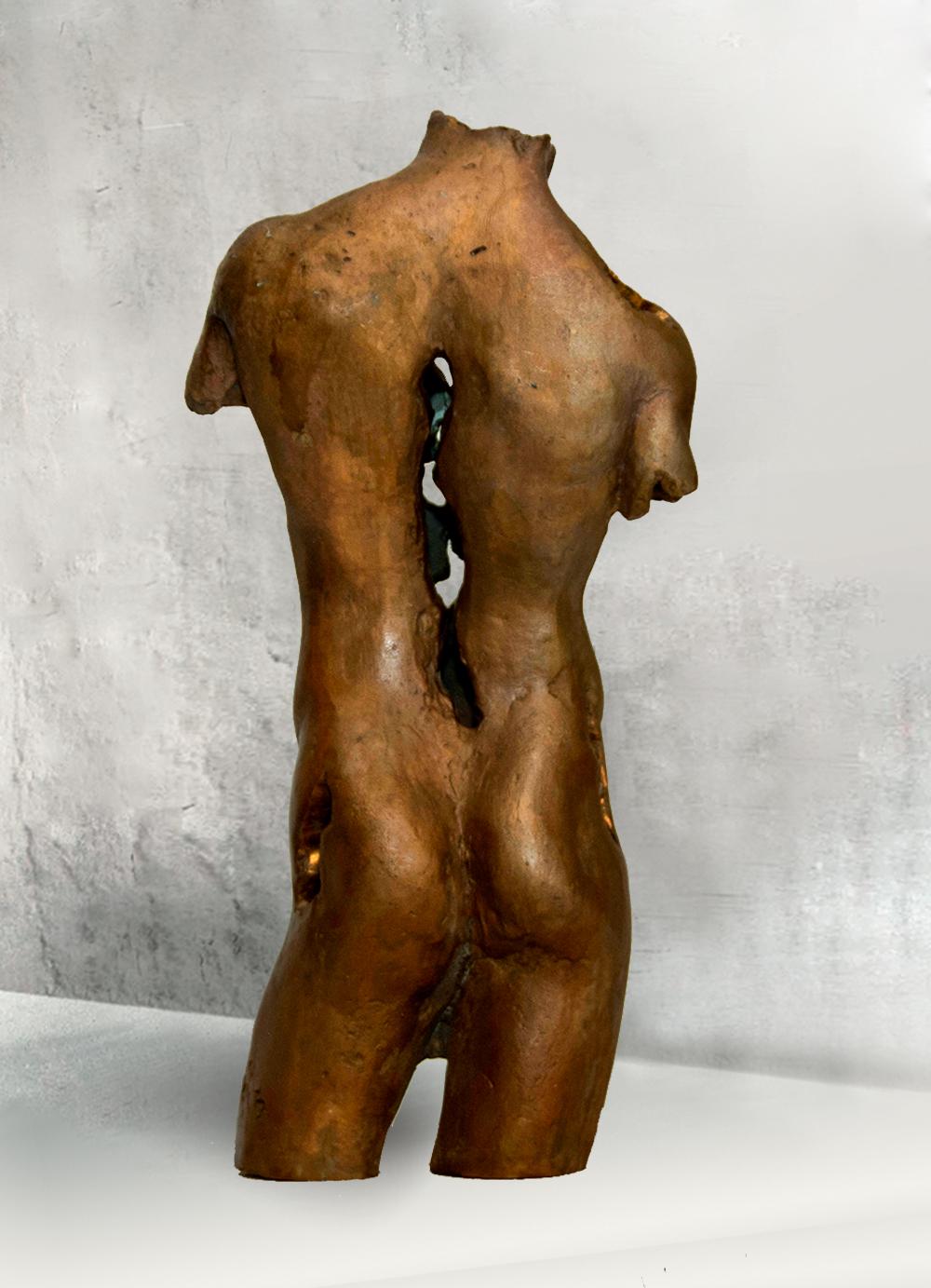 Escultura-Torso-Masculino-Bronce-C-C.Danone-RD.Escultor